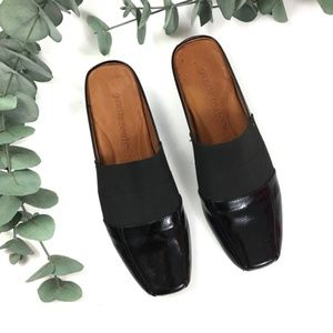 Gentle Souls | Iso Stretch Patent Mule size 9.5 M